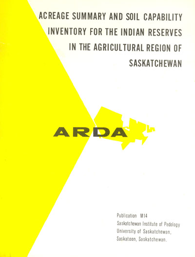 View the Acreage Summary and Soil Capability Inventory for the Indian Reserves in the Agricultural Region of Saskatchewan (PDF Format)