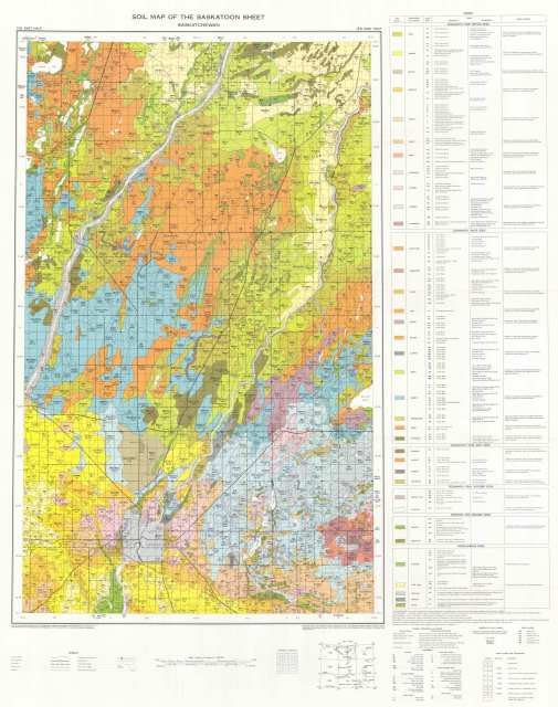 The Soils of the Saskatoon Map Area 73B