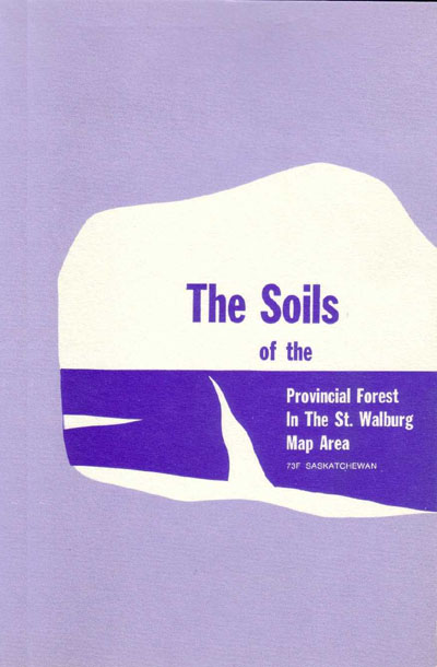 View the The Soils of the Provincial Forest in the St. Walburg Map Area (73F) (PDF Format)