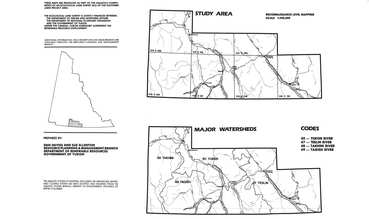 View the map:  MAP WATERSHED STUDY AREA (JPG Format)