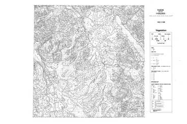 View the map:  MAP VEGETATION 105C SW (JPG Format)