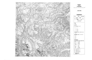 View the map:  MAP VEGETATION 105D SW (JPG Format)
