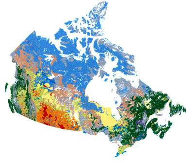 Canadian Soil Information Service - Land use classification map us